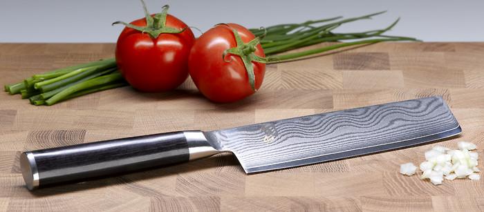 Kai shun messer aus damast japanmesser for Koch zeichnen