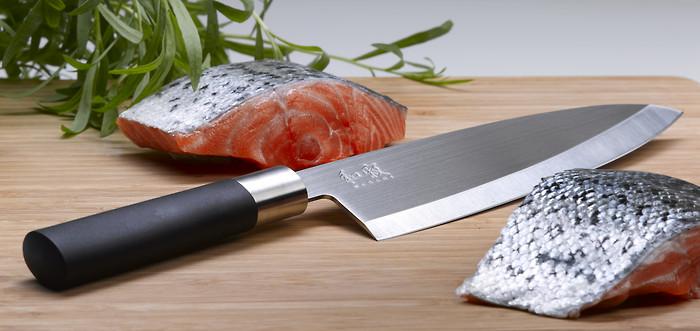 Kai Wasabi Black Deba Messer