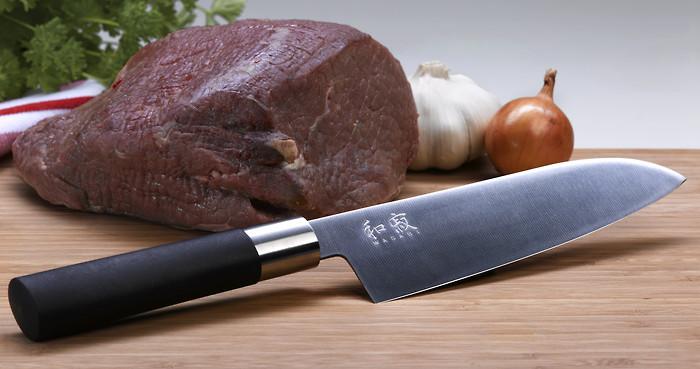 Kai Wasabi Messer mit beidseitigem Schliff