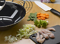 Zubehör zum Wokken - Küchenhelfer