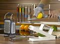 Küchenhelfer zum Raspeln und Reiben