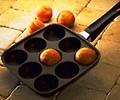 Spezielle Bratpfannen - Poffertjes, Pförtchen, Krapfen, Eierpfannen, Pfannkuchenpfannen, ...