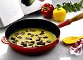 Le Creuset Schmorpfannen - Gusseisen Saute- Bratpfannen