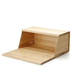 holz brotkasten von continenta. Black Bedroom Furniture Sets. Home Design Ideas