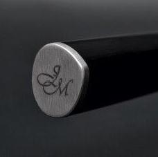 Gravur am Griff eines Kai Shun Messers