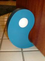 Einsetzbar auf Fliesen, Holz, Teppich, Beton, ... - Flux in blau