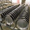 Gusseisen Kochgeschirr Produktion