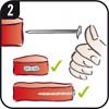Grillthermometer verwenden