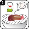 Richtige Garzeit für ein Steak