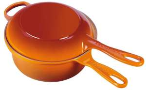 Le Creuset Topf Marmitout 2 in 1 ofenrot
