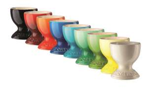Le Creuset Keramik Eierbecher Farben