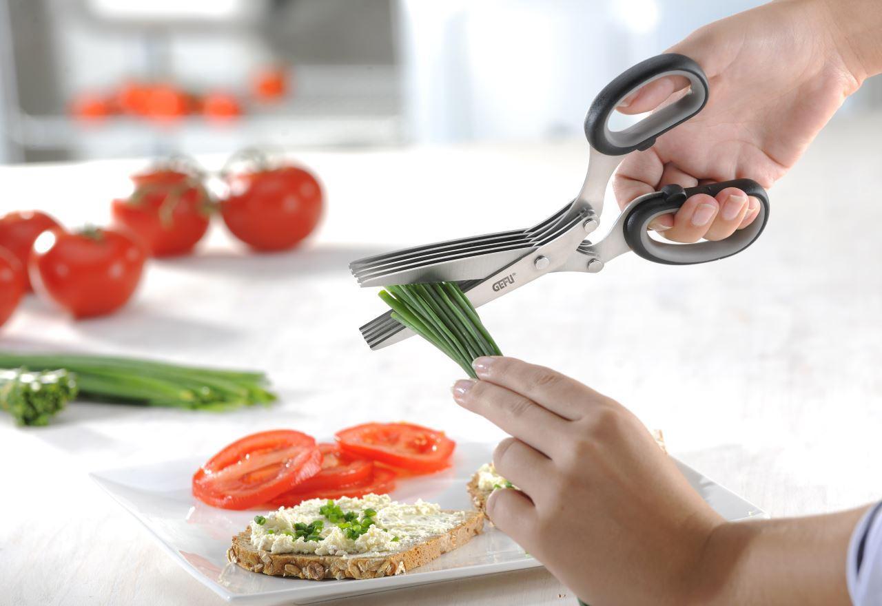 Gefu kr uterschere kochen essen wohnen - Kochen essen wohnen ...