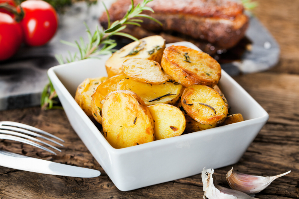 Leckere Bratkartoffel nach schwedischer Art