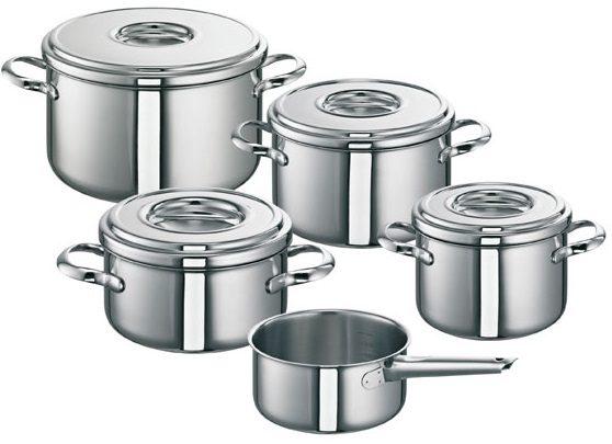 Edelstahl Topfset Romana von SUS hochwertige Toepfe mit idealen Kocheigenschaften