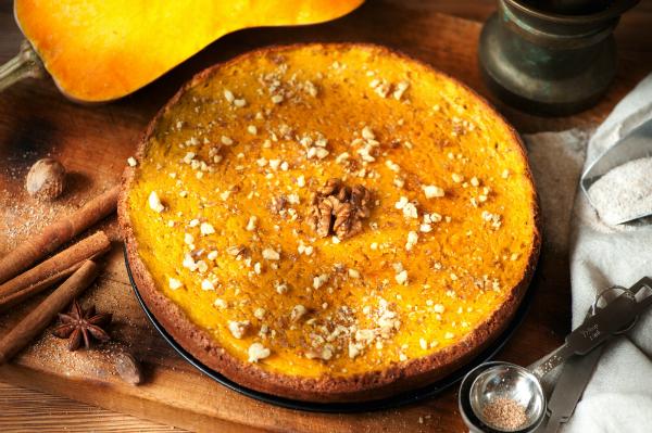 Kuerbis-Gewuerz-Kuchen