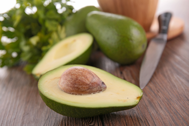 Avocado braten
