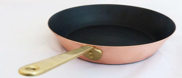 Kupfer Bratpfanne Keramik Induktion 26 cm
