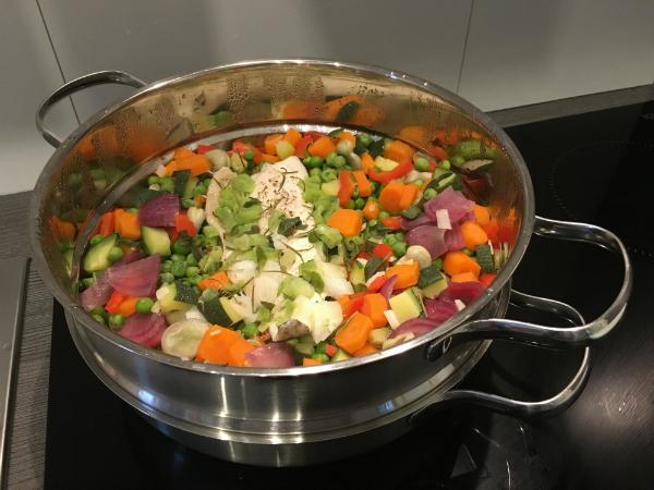 Jedes Gemüse hat je nach Konsistenz eine bestimmte Garzeit