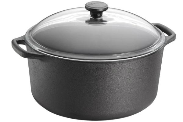 Kochtopf aus Gusseisen von Skeppshult ideal fuer Eintoepfe Durchmesser 28 cm