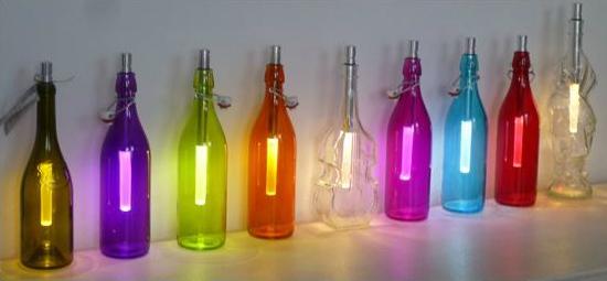 Bottle Light Flaschenleuchte zwei Helligkeiten