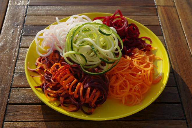 Gemüsespaghetti Rezept