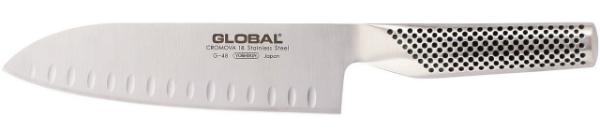 Global G Santokumesser mit Kullen 18 cm