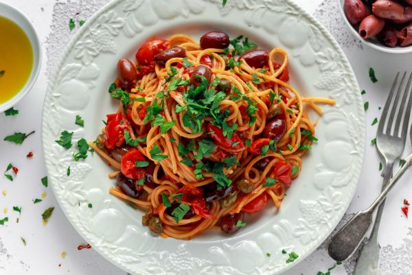 """Spaghetti aus Gemüse- oder Hülsenfrüchtemehl stehen den """"normalen"""" in nichts nach"""