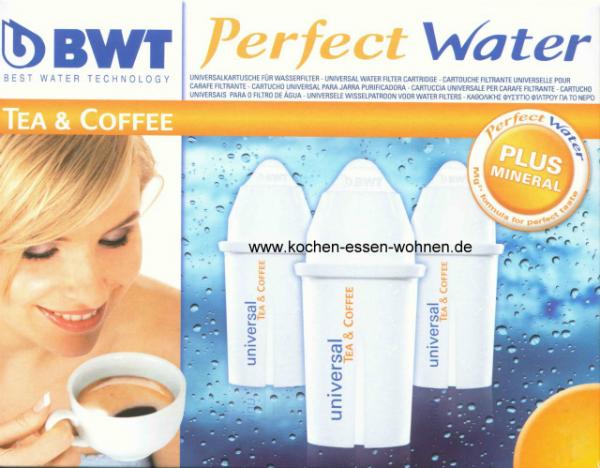 BWT Universal MG+ 12 Wasserfilter Kartuschen fuer Brita Classic