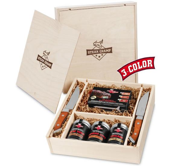 Grillthermometer Steak Champ Geschenk Set