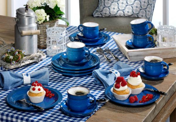 Friesland Ammerland Blue Angebot Kaffeeservice