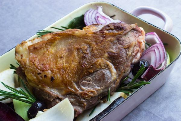 Eine saftige und unbeschreiblich köstliche Lammschulter