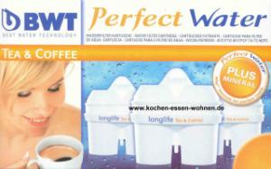 BWT Longlife 12 Wasserfilter Kartuschen fuer Brita Maxtra