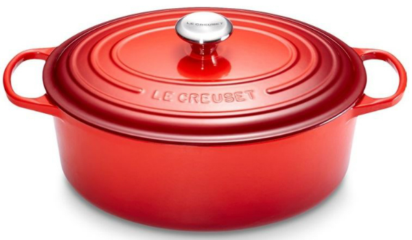 Le Creuset Gusseisen Braeter oval 40 cm