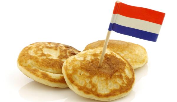 Poffertjes sind eine traditionelle Niederländische Süßspeise