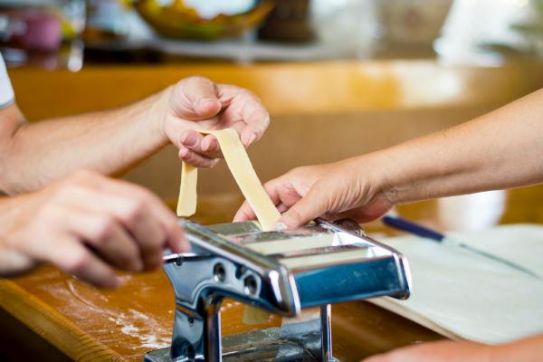 Italienische Pasta selber machen