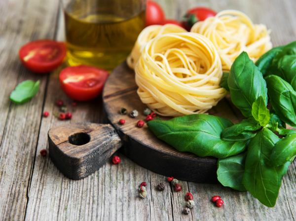 Italienische Zutaten