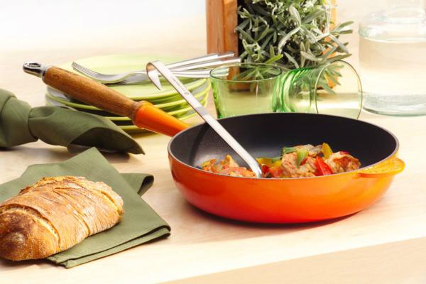 Le Creuset Gusseisen Pfanne 28 cm - Sautepfanne