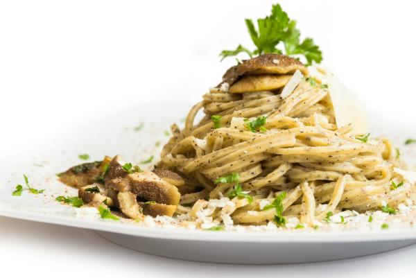 Tagliolini mit Pilzen