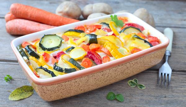 Leckerer Gemüseauflauf