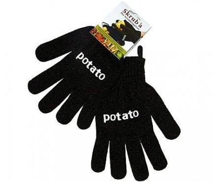 Skruba Kartoffelhandschuhe