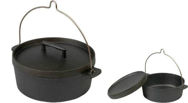 Skeppshult Gusseisen Topf Dutch Oven 0855