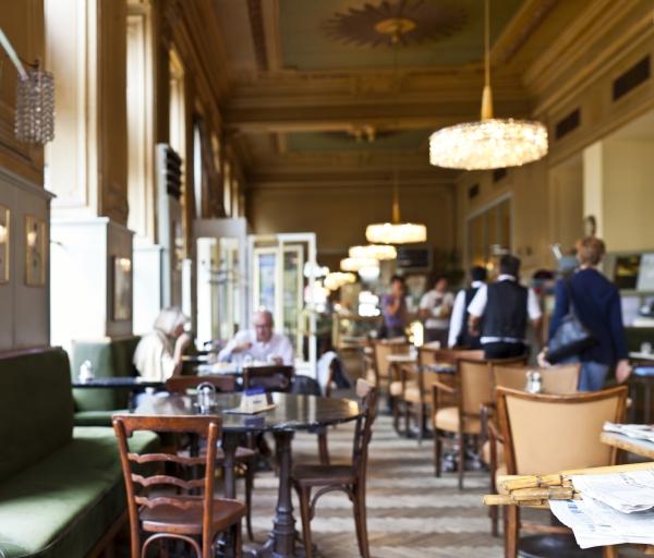 Traditionelles Wiener Kaffeehaus