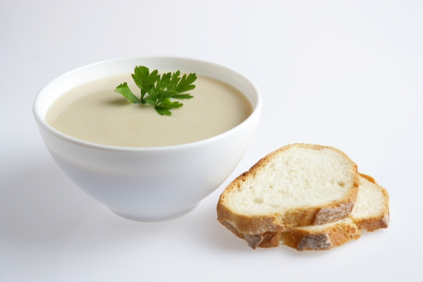 Chicoree-Kartoffel-Suppe